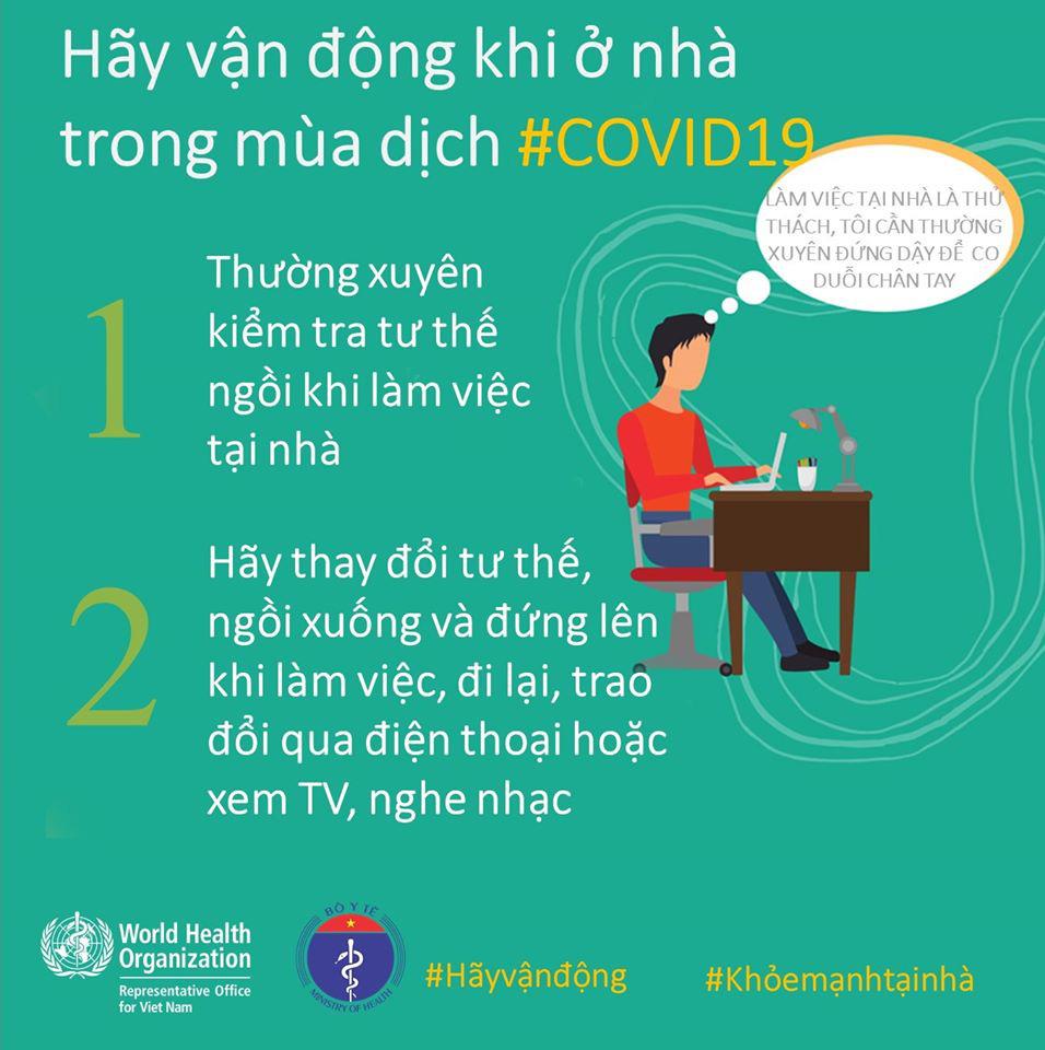 Bộ Y tế và WHO khuyến khích người dân nên tăng cường vận động thể lực để giữ sức khỏe trong mùa dịch COVID-19 - Ảnh 7.