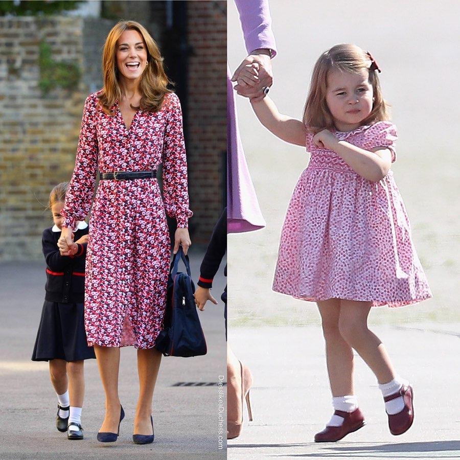 Style hoàng gia là thế nào, nhìn mối tương quan giữa mẹ con Công nương Kate – Công chúa Charlotte là rõ - Ảnh 4.