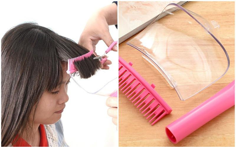Tự cắt tóc mái ở nhà dễ ợt với 2 món hỗ trợ giá chỉ vài chục nghìn đồng