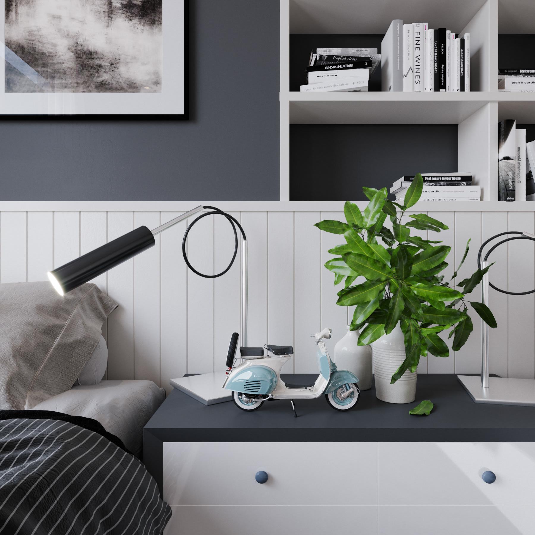 Tư vấn thiết kế nội thất phòng ngủ 16m2 đẹp hút hồn với chi phí gần 32 triệu  - Ảnh 5.