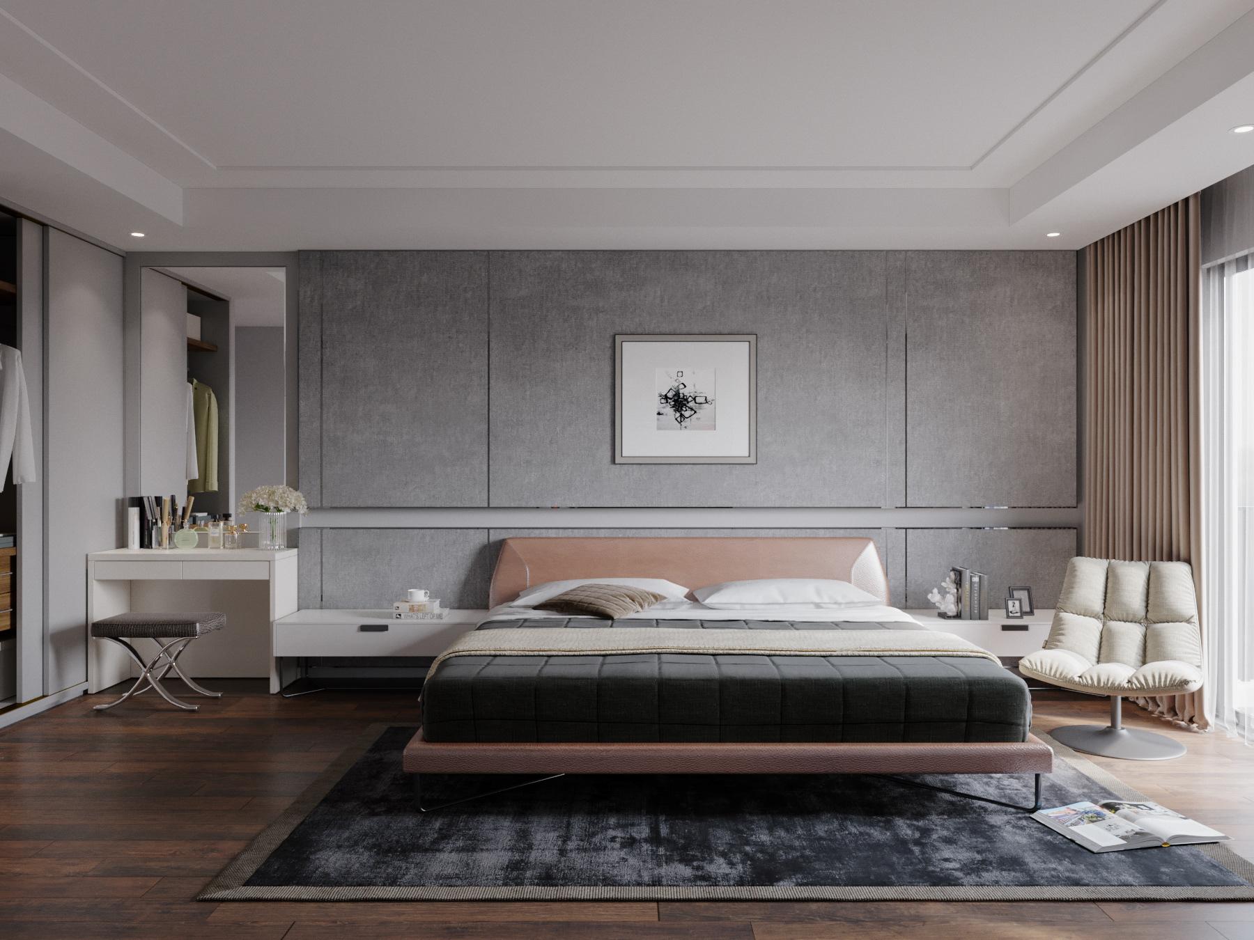 Tư vấn thiết kế nội thất phòng ngủ 16m2 đẹp hút hồn với chi phí gần 32 triệu  - Ảnh 6.