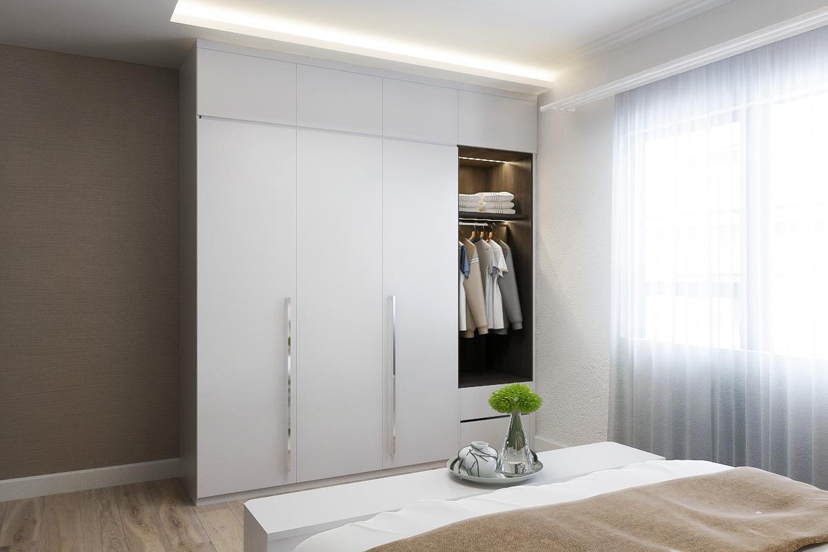 Tư vấn thiết kế nội thất phòng ngủ 16m2 đẹp hút hồn với chi phí gần 32 triệu  - Ảnh 10.