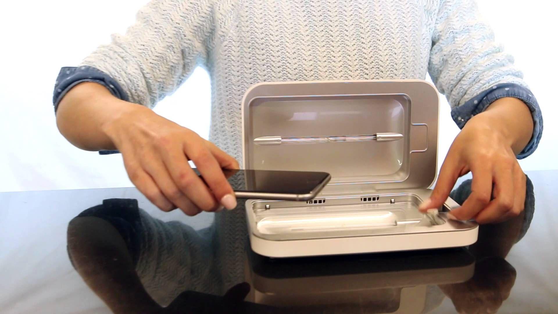 Thiết bị khử khuẩn điện thoại di động xuất hiện nhiều tại chợ mạng, giá bán không hề rẻ nhưng vẫn được nhiều người tiêu dùng săn đón - Ảnh 2.