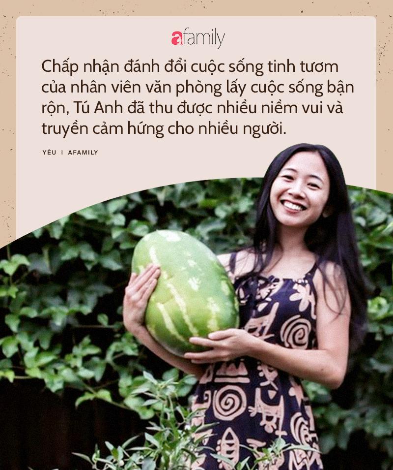 """Mê vườn, người phụ nữ 8X chuyển từ thành phố về mảnh vườn rộng 2000m2 ở ngoại ô để tận hưởng hạnh phúc """"ngay và luôn"""" - Ảnh 5."""