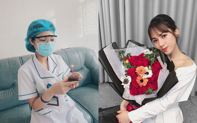 Nữ điều dưỡng xinh đẹp của Bệnh viện Bạch Mai kể về ngày sinh nhật đặc biệt trong khu cách ly và nỗi khó khăn khi làm việc ở khoa có nhiều người nhiễm Covid-19 nhất