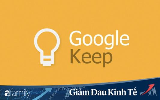 Mẹo làm việc cực hay với Google Keep chị em cần nắm rõ để làm việc tại nhà hiệu quả hơn!