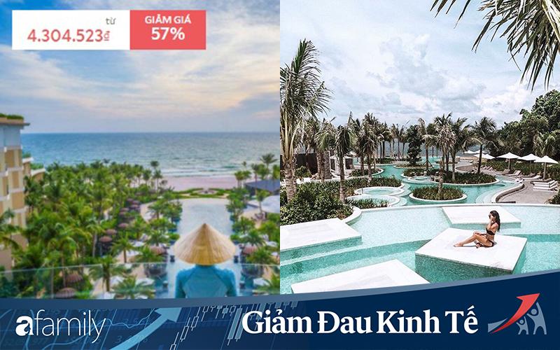 """Đi du lịch mùa Covid-19: Hàng loạt khách sạn, resort 5 sao đồng loạt tung khuyến mãi, có nơi giảm giá sâu tận 80% chống """"ế"""""""