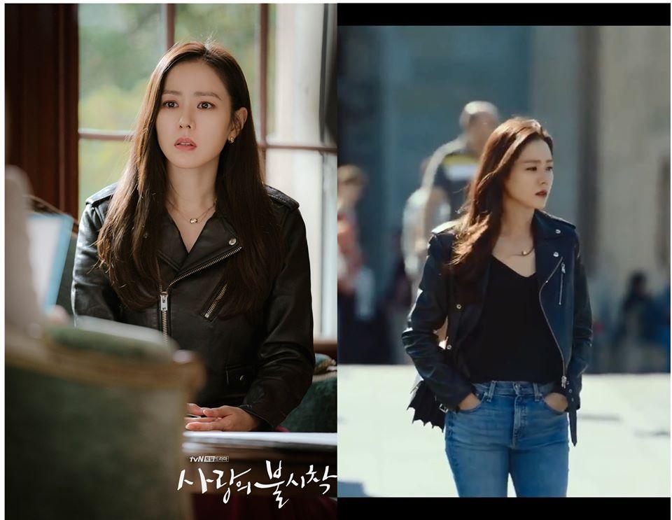 """Hạt """"sạn"""" to đùng trong Crash Landing On You khi Son Ye Jin diện lại áo cũ từ 8 năm trước: Là tiết kiệm hay có ẩn ý sâu xa - Ảnh 1."""