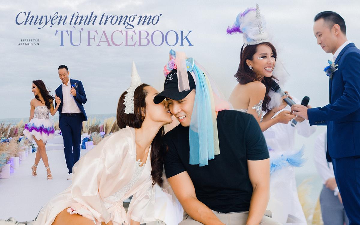"""My Lan Nguyễn - Cô gái có cuộc tình như mơ từ FB và sự """"đấu tranh"""" với phụ huynh để mặc váy cưới đuôi cá màu tím, đội sừng Unicorns trong hôn lễ của chính mình - Ảnh 2."""