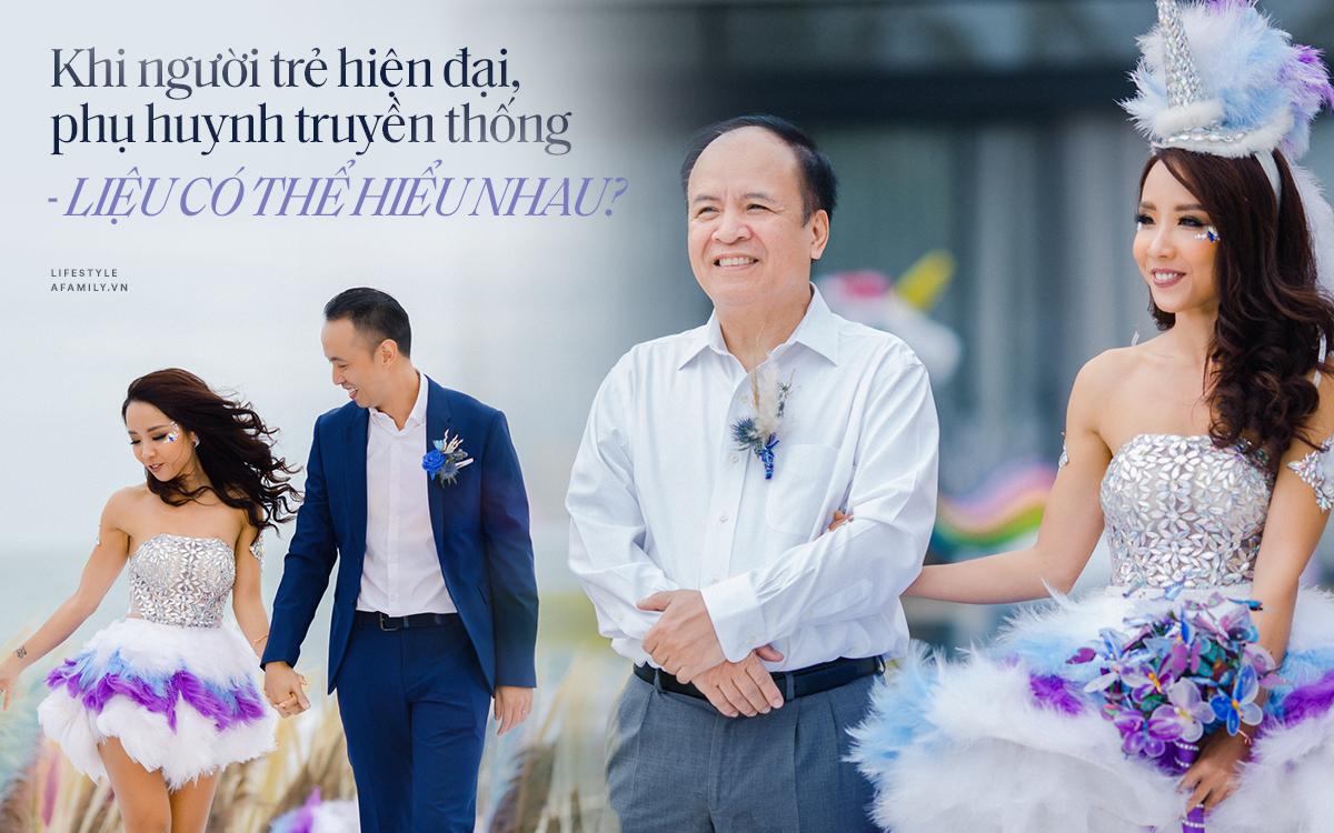 """My Lan Nguyễn - Cô gái có cuộc tình như mơ từ FB và sự """"đấu tranh"""" với phụ huynh để mặc váy cưới đuôi cá màu tím, đội sừng Unicorns trong hôn lễ của chính mình - Ảnh 7."""