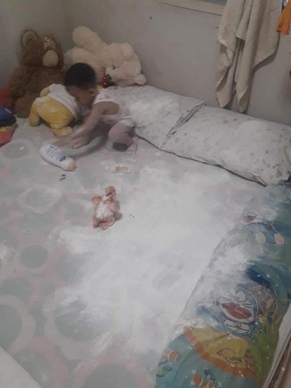 Ở nhà trông con, ông bố nếm đủ trái đắng khi trót ngủ say khi con còn thức - Ảnh 10.