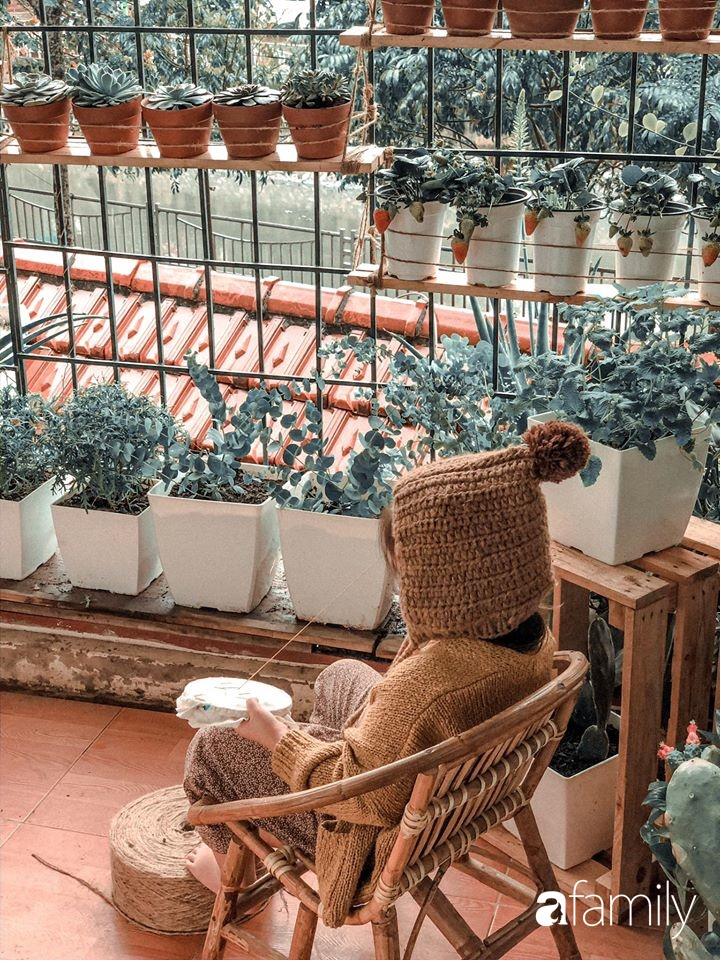 Ngắm góc may vá xinh đẹp của mẹ đảm tại Yên Bái, ngạc nhiên vì đa phần đồ đạc trong nhà đều được làm handmade - Ảnh 8.