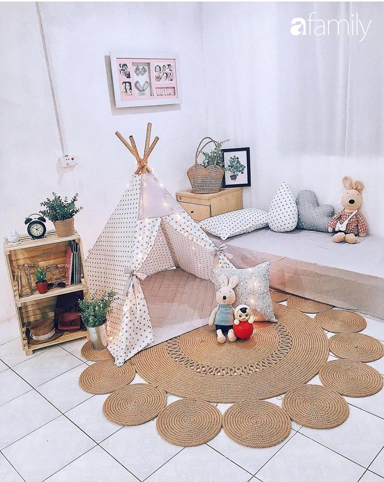 Ngắm góc may vá xinh đẹp của mẹ đảm tại Yên Bái, ngạc nhiên vì đa phần đồ đạc trong nhà đều được làm handmade - Ảnh 6.