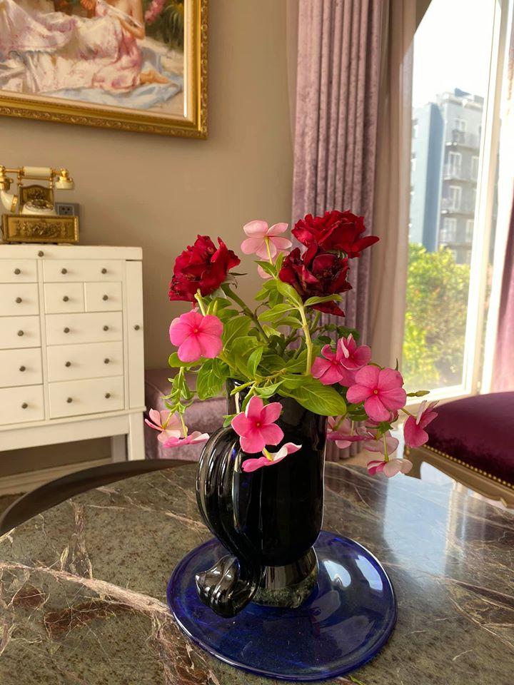 Biệt thự màu trắng siêu sang trồng nhiều hoa và cây xanh của Hoa hậu đền Hùng Giáng My - Ảnh 7.