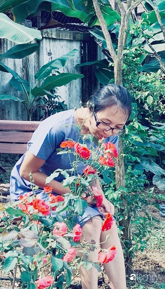 Ngôi nhà vườn gần trăm năm tuổi bên cạnh khu vườn hoa hồng gói gọn những lặng lẽ, yên bình của xứ Huế mộng mơ - Ảnh 3.
