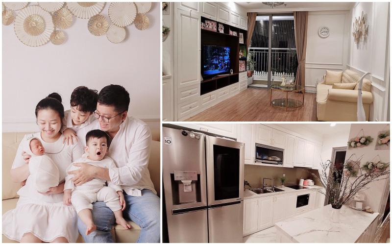 Căn hộ 121m² đẹp dịu dàng đến từng góc nhỏ trên tầng 34 ở Hà Nội