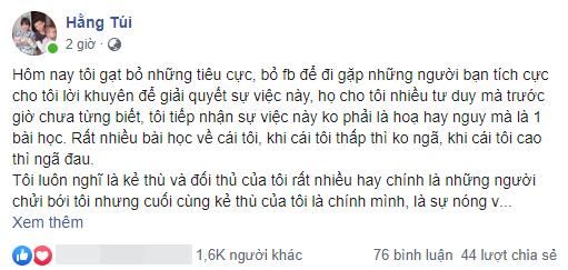 Drama Hằng Túi chuyển khoản nhầm: Đã được trả lại tiền, phải đăng đàn xin lỗi nữ sinh 20 tuổi - Ảnh 1.