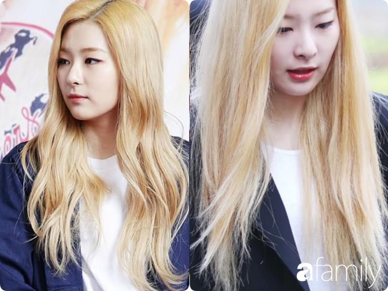 """""""Bóc mẽ"""" mái tóc khô như ngói của sao Kpop, cô nàng xứ Kim Chi cảnh tỉnh các chị em đang tẩy, nhuộm tóc quá nhiều - Ảnh 4."""