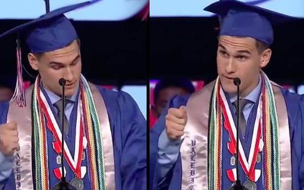 Chàng thủ khoa tốt nghiệp ĐH tiếc nuối vì học giỏi, lý do đằng sau khiến mọi người ngỡ ngàng... - Ảnh 1.