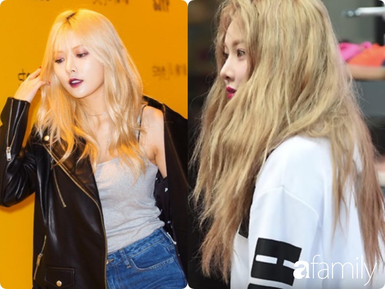 """""""Bóc mẽ"""" mái tóc khô như ngói của sao Kpop, cô nàng xứ Kim Chi cảnh tỉnh các chị em đang tẩy, nhuộm tóc quá nhiều - Ảnh 2."""