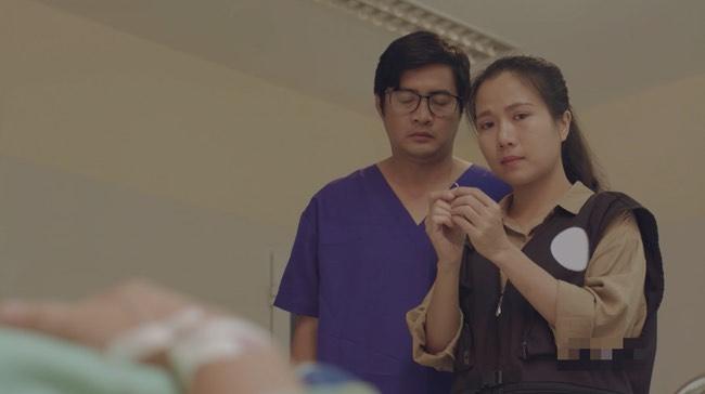 """Hết """"Hậu duệ Mặt trời"""", """"Cua lại vợ bầu"""", Thùy Dương tiếp tục làm y tá trong """"Nắng 3"""" - Ảnh 6."""