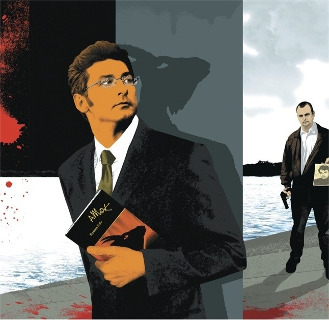 Quyển tiểu thuyết vạch trần tội ác của tác giả đối với thi thể của người đàn ông bị giết hại và quăng xác xuống suối - Ảnh 2.