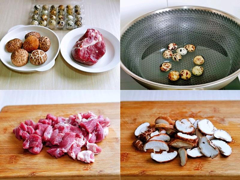 Thịt kho nấm trứng cút mềm ngon tuyệt đối - Ảnh 1.