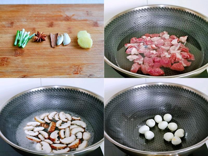Thịt kho nấm trứng cút mềm ngon tuyệt đối - Ảnh 2.