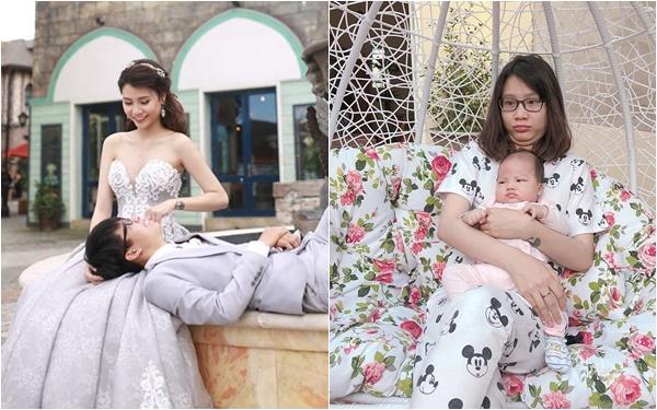 """Hot mom 9X triệu người mê Thanh Trần """"ăn vạ"""" chồng vì tội xài hao, than đẻ 2 con xong trông như """"chị hà bá"""" - Ảnh 1."""
