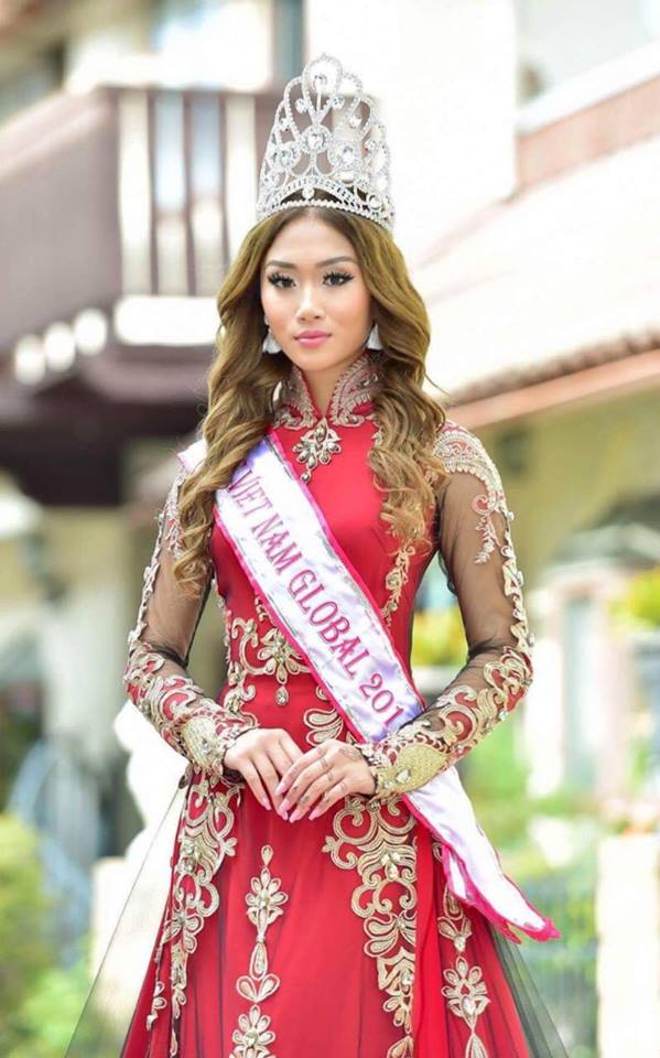 Hoa hậu Việt Nam Toàn cầu 2017 Jacqueline Đặng qua đời ở tuổi 22 do đột quỵ - Ảnh 1.