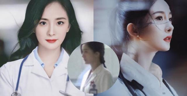 Dương Mịch đi quay show cùng Đặng Luân, đáng chú ý là mang vòng cổ, dùng dây buộc tóc của con gái?  - Ảnh 9.