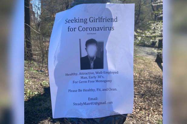 Chàng trai dán tờ rơi tuyển bạn gái trên khắp các thân cây trong công viên, nhìn kỹ yêu cầu hàng đầu ai nấy đều giật mình - Ảnh 2.