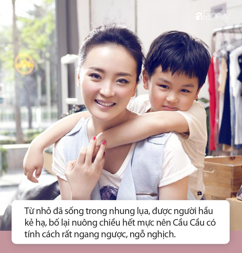Nàng Tình Nhi của Hoàn Châu cách cách: Khổ sở vì con trai độc nhất quá hỗn láo, kiên quyết dùng tình yêu để dạy con và cái kết ấm lòng - Ảnh 2.