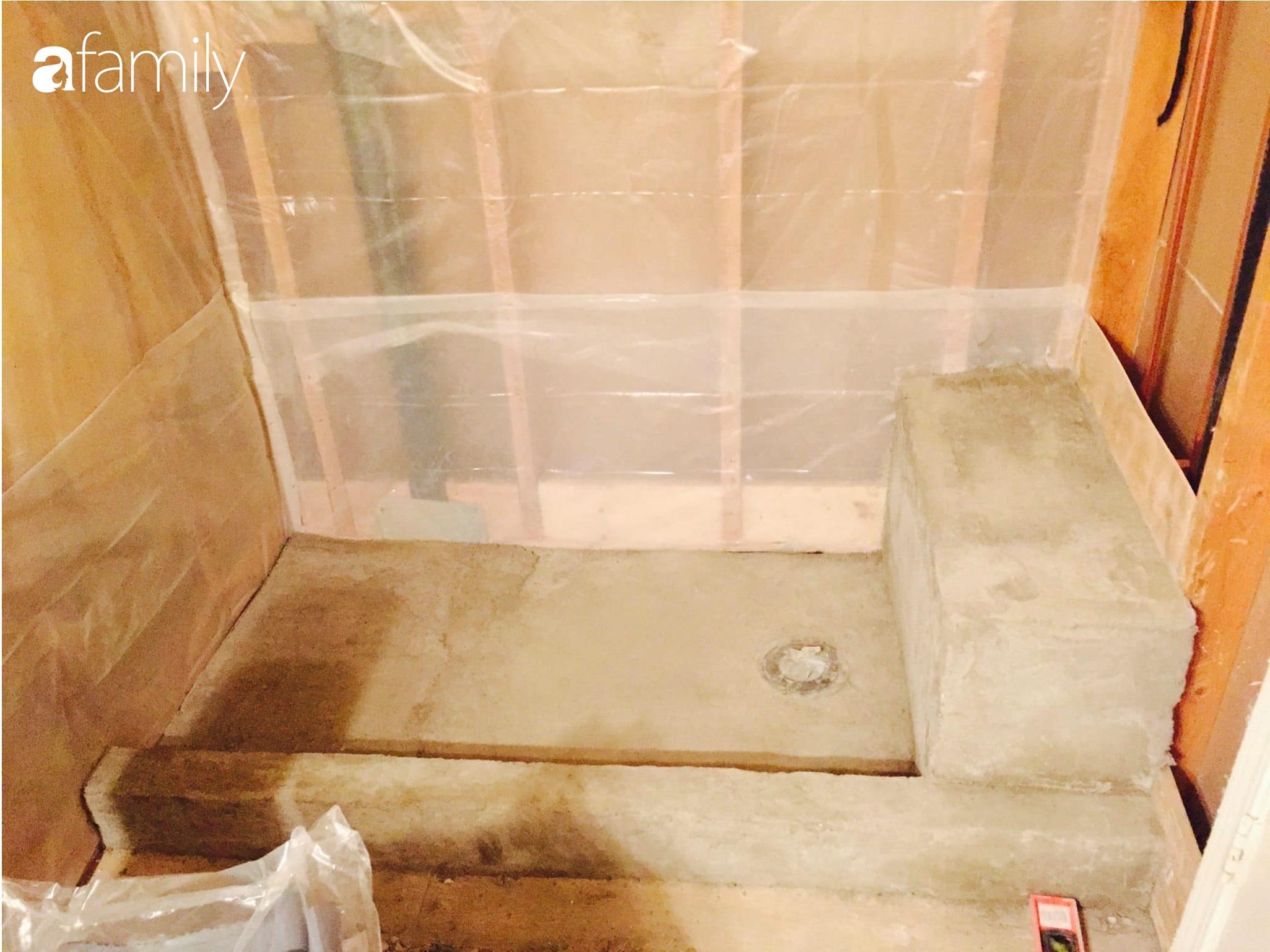 Kỉ niệm 6 năm ngày cưới, cặp vợ chồng Việt khoe khéo không gian phòng tắm tự tay cải tạo từng chút một ở đất Mỹ - Ảnh 10.