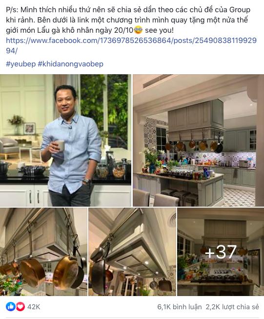 Tâm sự có đến 42 nghìn like của doanh nhân ngành ẩm thực: Ngay lần gặp đầu tiên đã xác định cô gái đó là vợ và câu chuyện về căn bếp trong mơ của bất cứ ai yêu vào bếp - Ảnh 1.