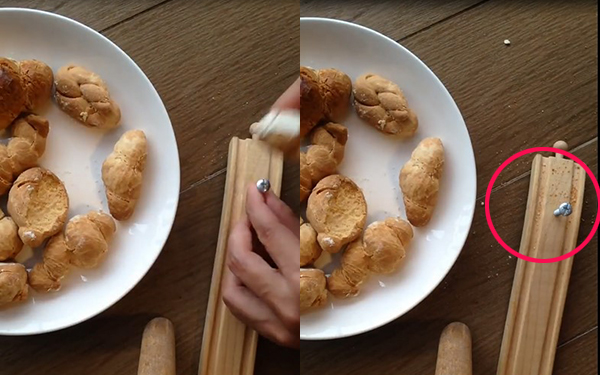 """Đỉnh cao """"nữ công gia chánh"""": Làm bánh mì mà hóa thành búa đóng được đinh vào gỗ"""