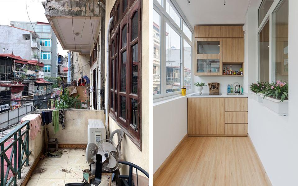 Chàng trai Hà Nội đầu tư 200 triệu đồng cải tạo tầng 2 thành căn hộ riêng biệt đẹp long lanh, có đủ phòng tiện ích