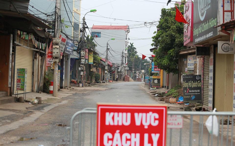 Bắc Ninh: Cách ly bắt buộc 40 người F1 tiếp xúc với BN 262