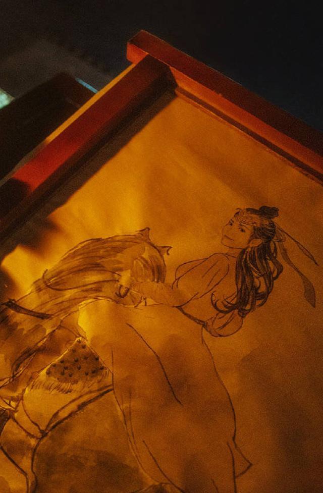 """""""Yến Vân Đài"""": Lộ ảnh Đường Yên cưỡi ngựa khi bụng bầu đã lớn, lại còn đẹp hơn Dương Mịch - Lưu Thi Thi Thi  - Ảnh 3."""