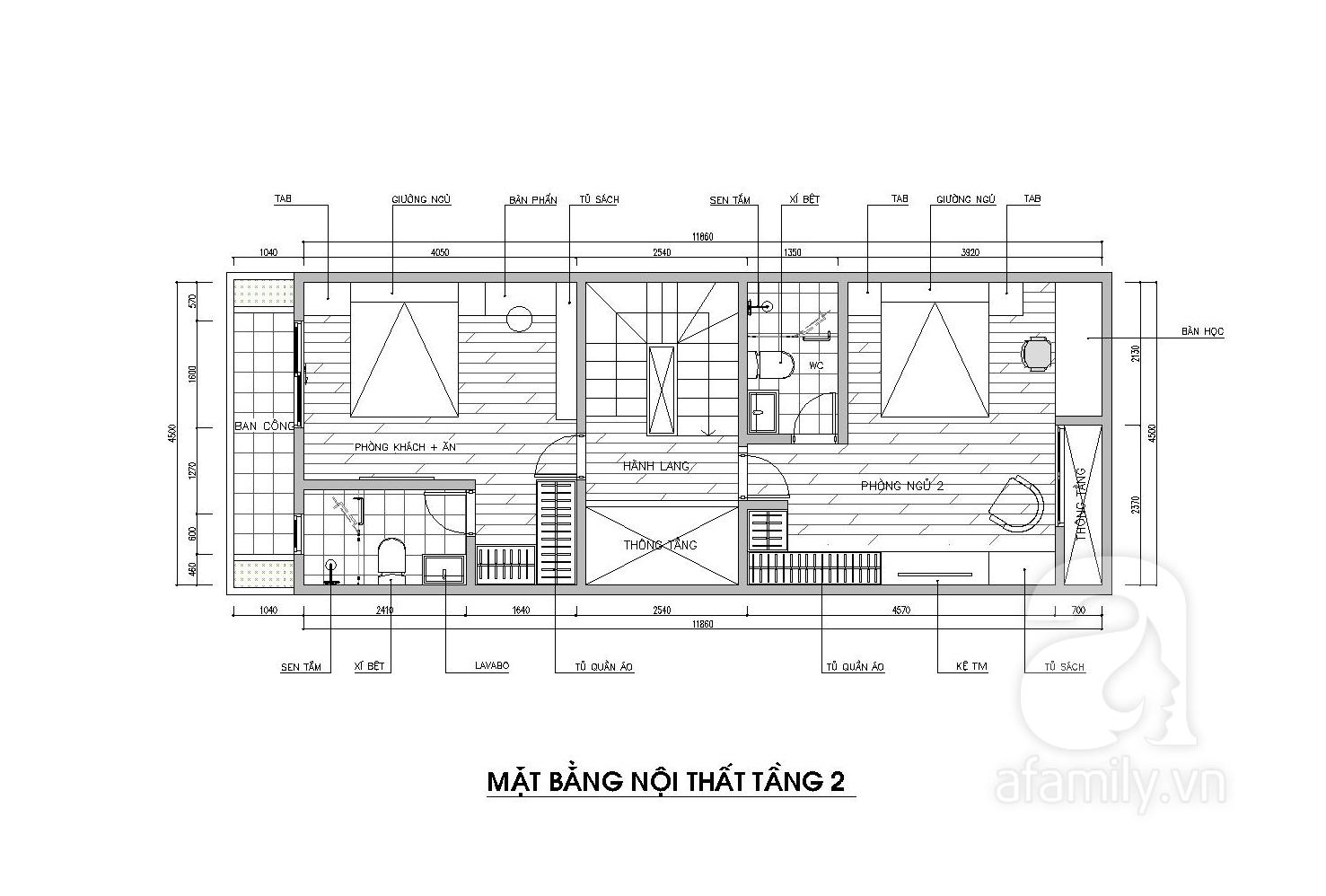 Tư vấn thiết kế căn nhà phong cách Scandinavian đơn giản mà đầy tinh tế với chi phí 155 triệu - Ảnh 3.