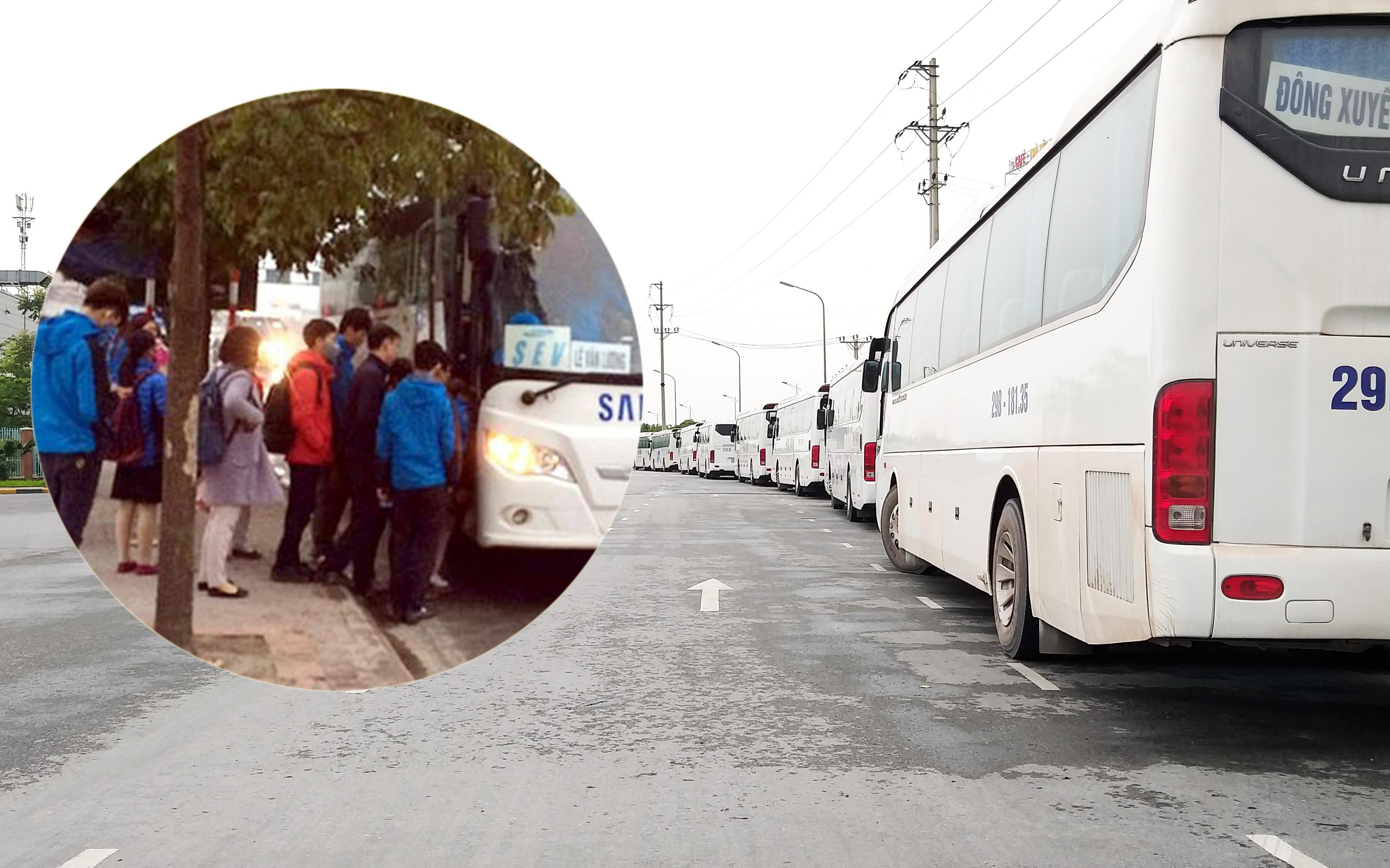 Lộ trình của công nhân Samsung nhiễm Covid-19: Đi xe đưa rước có khoảng 20 người mỗi chuyến, mỗi ngày tiếp xúc với 40 người