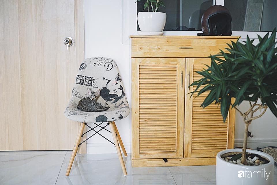 Căn hộ thuê lại được thiết kế nội thất thẩm mỹ và tối giản của cặp vợ chồng yêu thích sống tự do ở Sài Gòn - Ảnh 4.