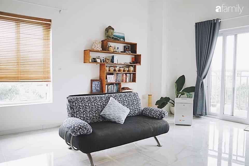 Căn hộ thuê lại được thiết kế nội thất thẩm mỹ và tối giản của cặp vợ chồng yêu thích sống tự do ở Sài Gòn - Ảnh 12.