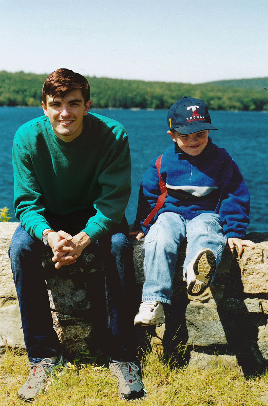 Với tài Photoshop điệu nghệ, chàng trai có thể quay ngược thời gian để gặp chính mình hồi bé - Ảnh 7.