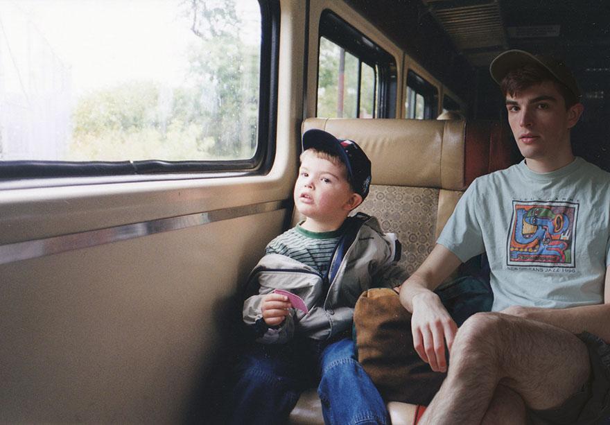 Với tài Photoshop điệu nghệ, chàng trai có thể quay ngược thời gian để gặp chính mình hồi bé - Ảnh 13.