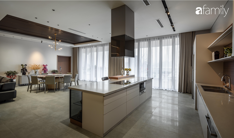 """Mê mẩn với căn hộ 350m² có cảnh """"view triệu đô"""" hướng ra bờ biển ở Quảng Ninh, không gian hiện đại nhưng vẫn hòa hợp với thiên nhiên  - Ảnh 2."""