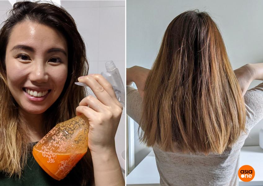 Dùng nước ép cà rốt để ủ, mái tóc của tôi thay đổi ngay lần gội đầu tiên  - Ảnh 1.