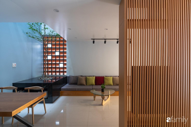 Ngôi nhà phố lấy cảm hứng từ thác nước mang đến cuộc sống an lành, thư thái cho gia đình 3 thế hệ ở Hải Dương - Ảnh 10.