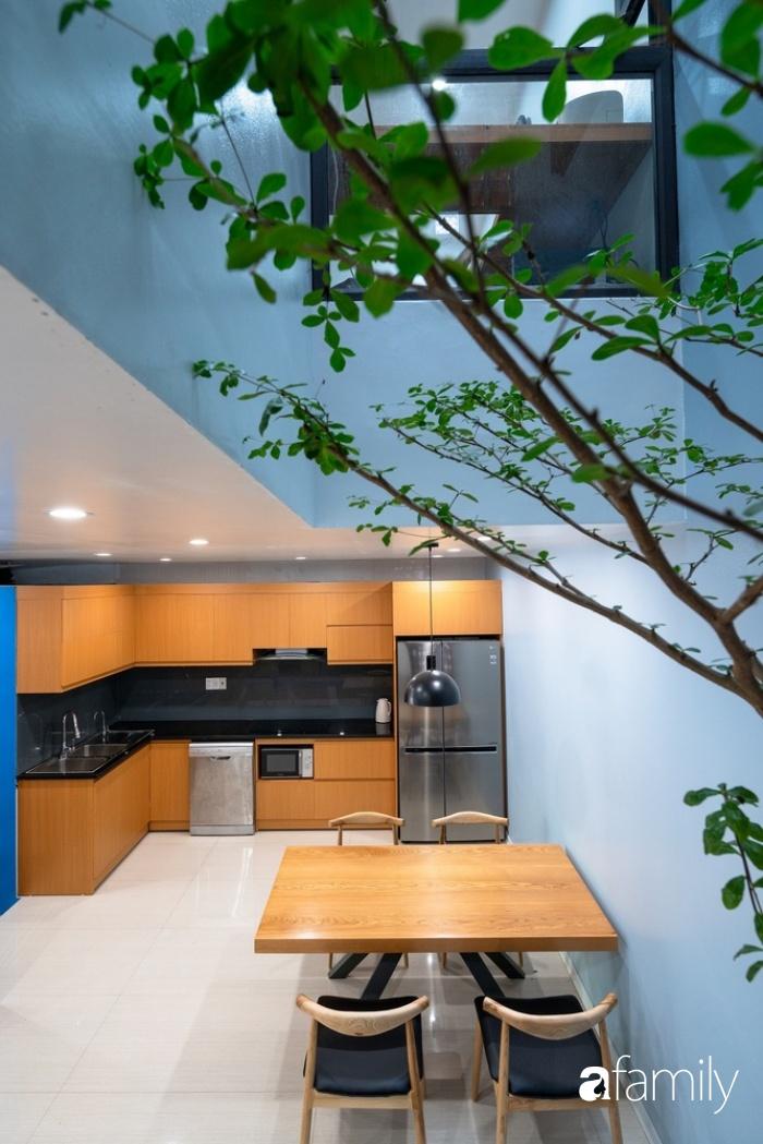 Ngôi nhà phố lấy cảm hứng từ thác nước mang đến cuộc sống an lành, thư thái cho gia đình 3 thế hệ ở Hải Dương - Ảnh 8.