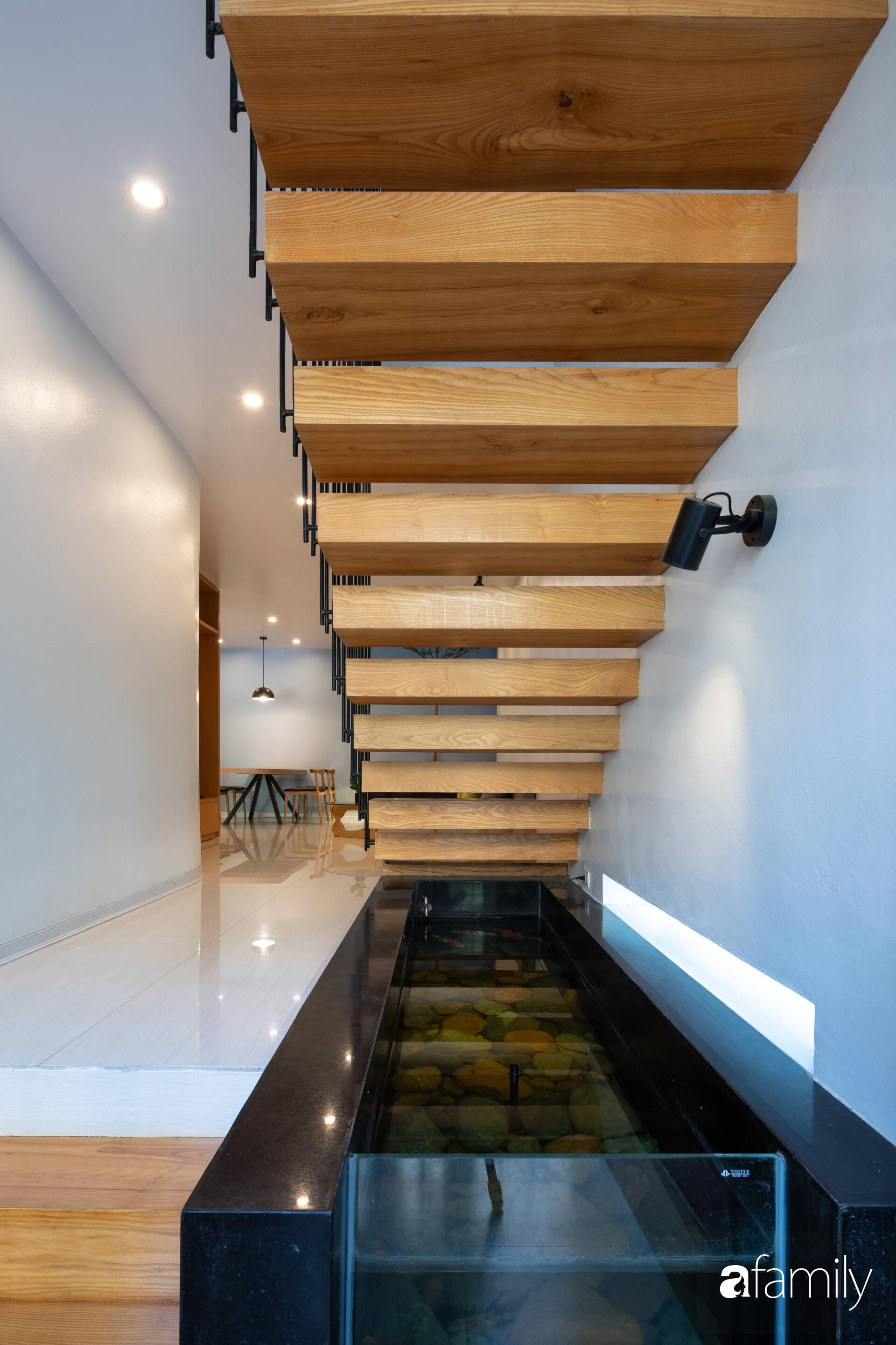 Ngôi nhà phố lấy cảm hứng từ thác nước mang đến cuộc sống an lành, thư thái cho gia đình 3 thế hệ ở Hải Dương - Ảnh 7.